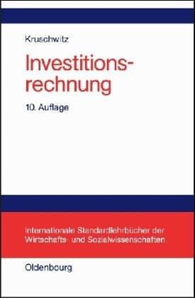 Investitionsrechnung.