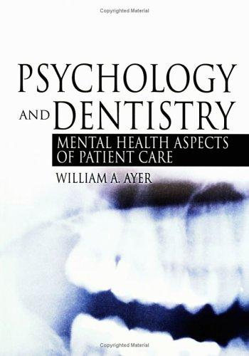 Download Psychology And Dentistry