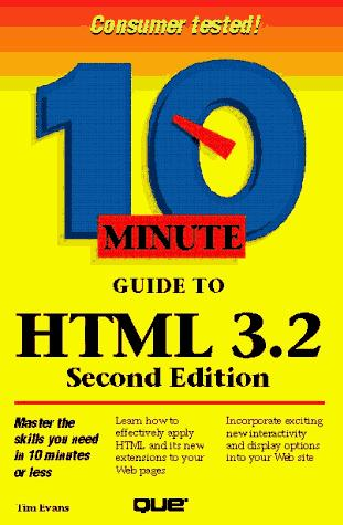 Download 10 minute guide to HTML