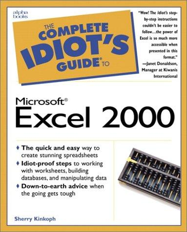 Download The complete idiot's guide to Microsoft Excel 2000