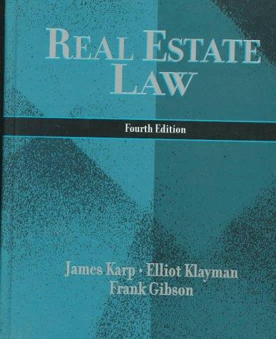 Download Real estate law