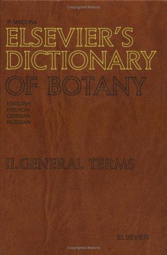 Download Elsevier's Dictionary of Botany