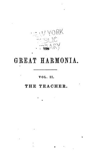 Download The Great Harmonia: A Philosophical Revelation of the Natural, Spiritual and Celestial Universe
