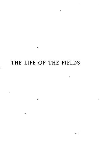 The Life of the Fields,