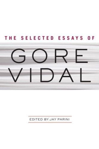 Download The Selected Essays of Gore Vidal