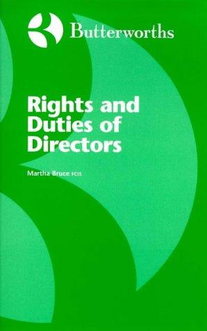 Download Rights and Duties of Directors