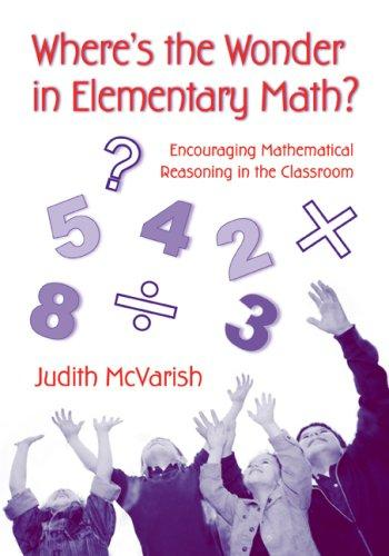 Where's the Wonder in Elementary Math?
