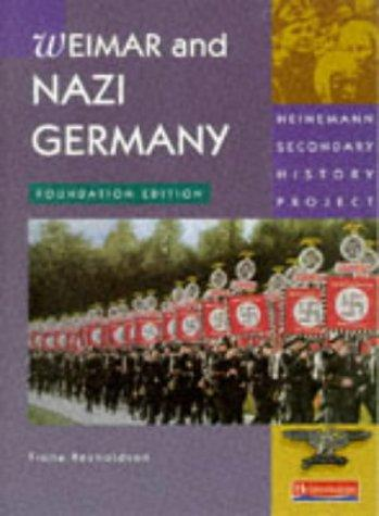 Download Nazi Germany (Heinemann Secondary History Project)