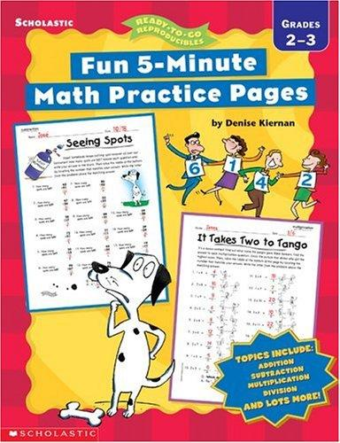 Download Fun, 5-Minute Math Practice Pages