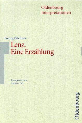 Oldenbourg Interpretationen, Bd.87, Lenz by Georg Büchner