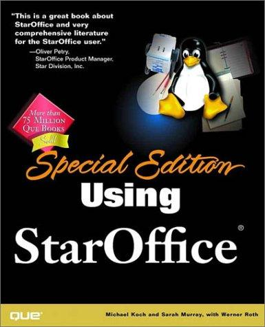Special Edition Using StarOffice by Sarah Murray