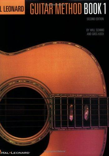 Hal Leonard Guitar Method Book 1 by Will Schmid, Greg Koch