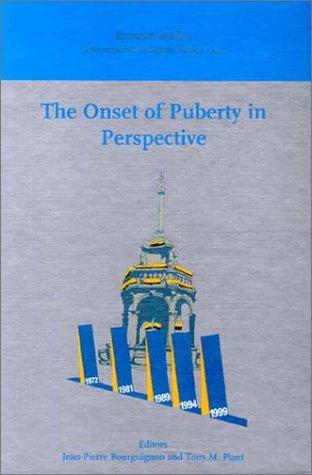 The onset of puberty in perspective by International Conference on the Control of the Onset of Puberty (5th 1999 Liége, Belgium)