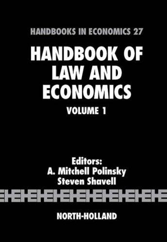 Handbook of law and economics by