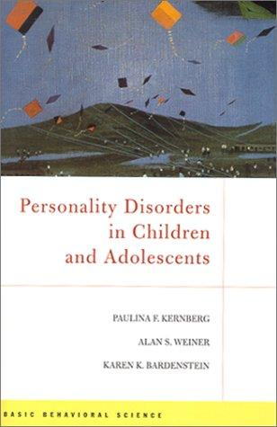 Personality disorders in children and adolescents by
