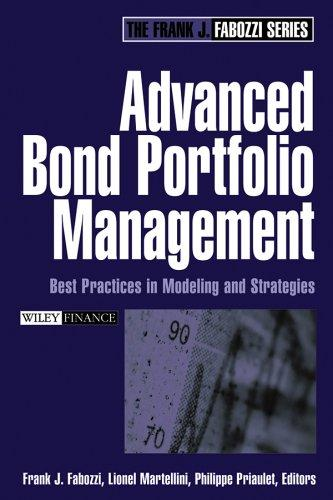 Advanced Bond Portfolio Management by Frank J. Fabozzi