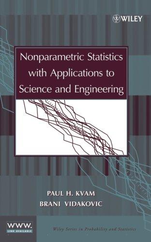 Nonparametric statistics with applications to science and engineering by