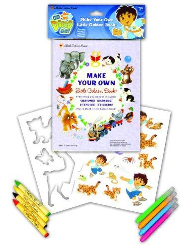 Go, Diego Go! Make Your Own Little Golden Book by Golden Books